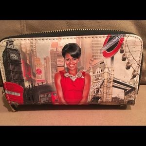 Handbags - Michelle Obama Wordly Wallet